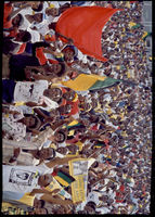ANC rally for released political prisoners, Soweto, 1990