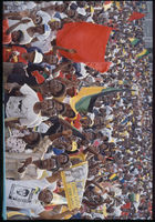 ANC rally for released political prisoners, Soweto, 1991