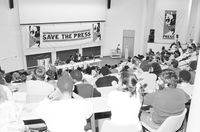 Save the Press campaign, UCT