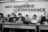 Anti-apartheid conference, Cape Town