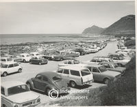 A full car park , Cape Towner's point