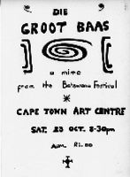 Die groot baas : a mime from the Botswana Festival