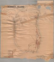 Map of Robben Island