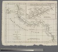 A Map of Africa from Cape Blanco, to the Coast of Angola