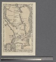 A Map of the Cape of Good Hope &  the Country adjacent, 1752