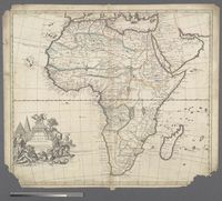A New Map of Africa from the latest Observations, Most humbly inscribed ... Marquis of Annandale, Kt of the most Noble &  Ancient Order of the Thistle