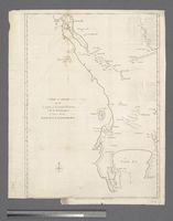 A Map and Chart of the Cape of Good Hope with the Soundings in Table Bay, False Bay and Saldanila Bay