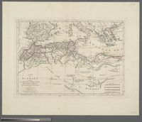 A Map of Barbary containing the Kingdoms of Marocco, Fez, Algier, Tunis and Tripoli