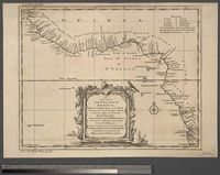 A Chart of the Western coast of Africa from the twelfth degree of Latitude North to the eleventh degree South. Drawn from the French Chart of the Western Ocean ... 1738 by order of the Count de Maurepas