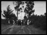 A funeral procession